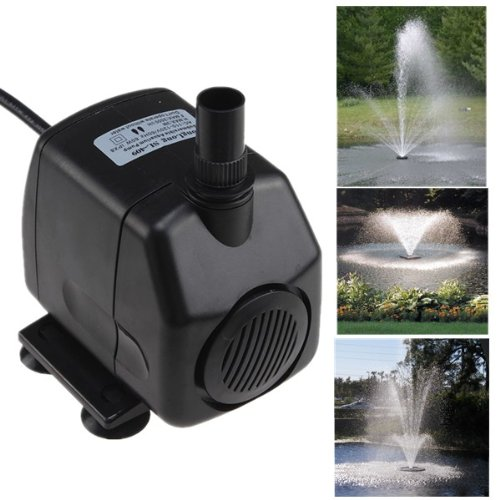 Silent Operation Electric Submersible Water Fountain Pump