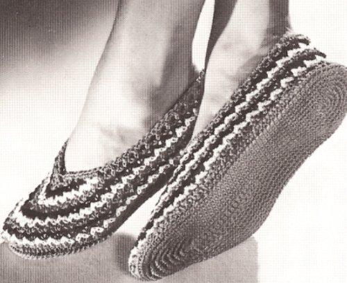 Crochet Ballet Slipper Pattern
