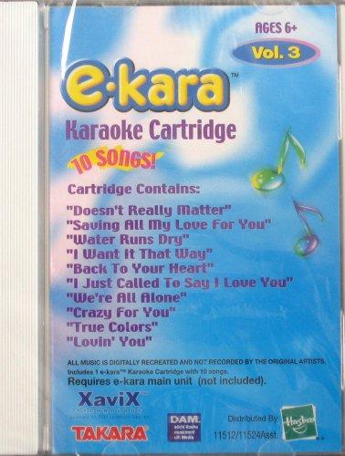 E-Kara Karaoke Cartridge: Vol 3