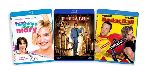 The Ben Stiller Blu-ray Collection (There's Something About Mary / Night at the Museum / Dodgeball)