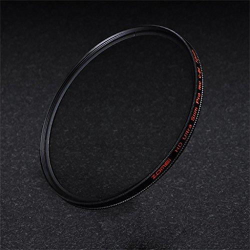 DELLT- Filtre HD CPL Polarisant 55/58/62/67/72/77 / 82mm Universal SLR Objectif ( taille : 55mm )