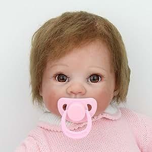 "Reborn Babies 22"" Dolls Soft Vinyl Magnetic Dummy Present ..."