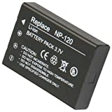 High Quality Shop4accesories Replacement Rechargable Lithium Li-on Digital Camera Battery NP-120 for Fuji FUJIFILM FinePix 603, M603, M603 Zoom, F10, F10 Zoom, F11, F11 Zoom , Compatible Part Numbers: NP-120