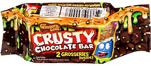 The Grossery Gang Crusty Chocolate Bar 2 pack Random