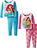 Disney Princess Girls 2-6X 2For Cotton Pajama Set