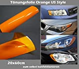 US Style Blinker Tönungsfolie Orange Blinker Folie Ami Tint Film