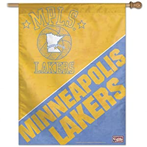 NBA Los Angeles Lakers 27-by-37-Inch Vertical Flag-Hardwood Classics by WinCraft