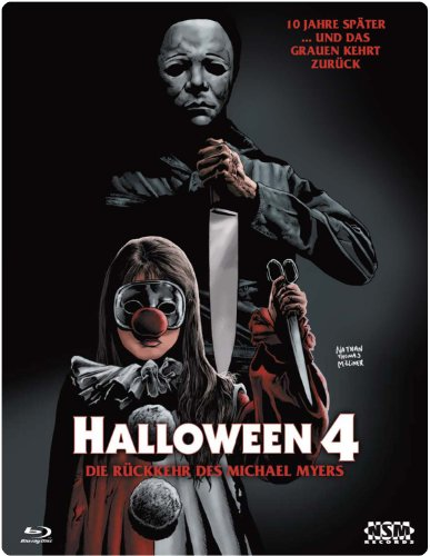 Halloween 4 (Blu-Ray) - uncut - limitiertes 3D Starmetalpak