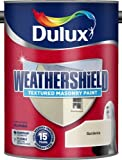 Dulux Weathershield Textured Masonry Paint Pure Gardenia 5L