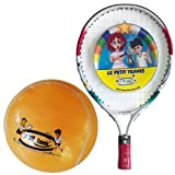 "Le Petit Tennis ""Baby"" Racquet 15"" + Inflatable Ball (For Ages 1-2) NEW"