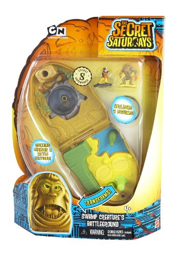 The Secret Saturdays Secret Swamp Creature's Battleground Adventure Playset