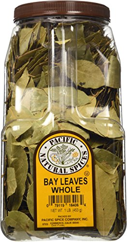 Pacific Natural Spices Whole Bay Leaves 1 Lb