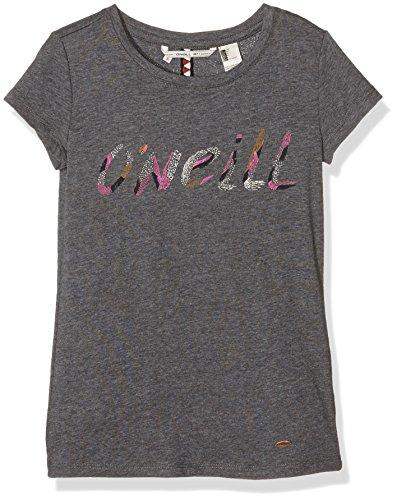 O'Neill-Maglietta a maniche corte, da ragazza, modello Deep grigio Deep Dark 14 anni (FR: 164)