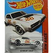 Hot Wheels HW Race - 170/250 - 68 Mercury Cougar - White