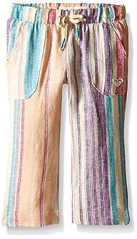 Roxy Baby-Girls Beach Stripe Pant, Bl…