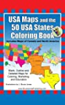 USA Maps and the 50 USA States Colori...