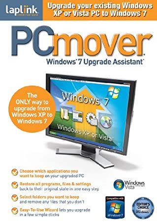 Laplink PC Mover Windows 7 Upgrade Assistant  [Download] [OLD VERSION]