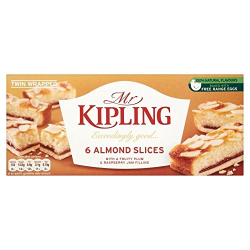 Mr Kipling Almond Slices (6)