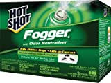 Hot Shot 21037 Indoor Insect Fogger, 3 Count, Case Pack of 1 (Discontinued by Manufacturer)