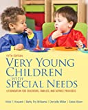img - for Very Young Children with Special Needs, Loose-Leaf Version with Pearson eText -- Access Card Package (5th Edition) book / textbook / text book
