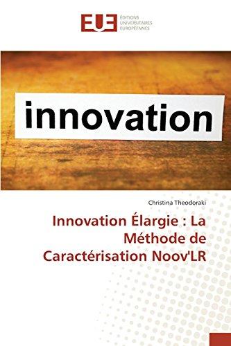 Innovation Élargie : La Méthode de Caractérisation Noov'LR
