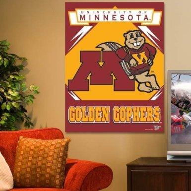 NCAA Minnesota Golden Gophers 27-by-37 inch Vertical Flag