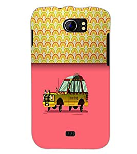PrintDhaba Car D-5488 Back Case Cover for MICROMAX A110Q CANVAS 2 PLUS (Multi-Coloured)