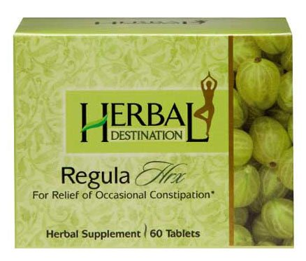 Regula Hrx - Occasional Constipation Relief; Triphala (Indian Gooseberry, Belleric, Chebulic) fruits based pills, helps - Weight loss plans* - Natural Herbal supplement remedies * - 1 month supply