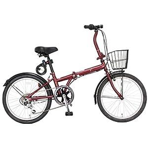 JEFFERYS(ジェフリーズ) AMADEUS アマデウス 20インチ 折りたたみ自転車 FDB206 マットレッド JP8572