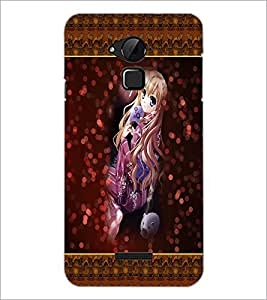 PrintDhaba Cute Girls D-4071 Back Case Cover for COOLPAD NOTE 3 LITE (Multi-Coloured)