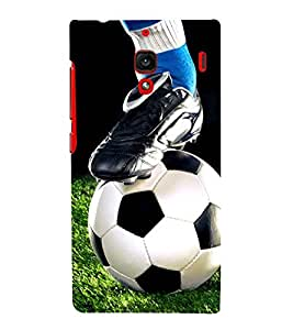 FOOTBALL THE GREATEST SPORT OF ALL TIME 3D Hard Polycarbonate Designer Back Case Cover for Xiaomi Redmi 1S :: Xiaomi Redmi (1st Gen)