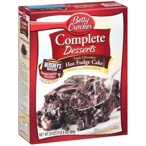 Betty Crocker Mini Molten Chocolate Cake