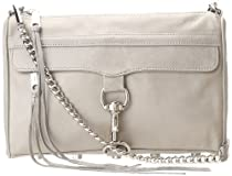 Rebecca Minkoff MAC Convertible Crossbody,Soft Grey,One Size
