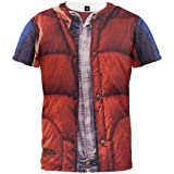 Back to the Future - McFly Vest Sublimation T-Shirt Medium Red