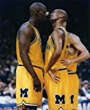 JALEN ROSE & CHRIS WEBBER MICHIGAN WOLVERINES 8X10 SPORTS ACTION PHOTO (L) at Amazon.com