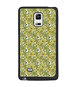 PrintDhaba Floral Pattern D-5341 Back Case Cover for SAMSUNG GALAXY NOTE EDGE (Multi-Coloured)