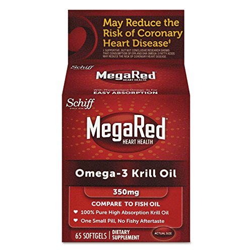 Omega-3 Krill Oil Softgel, 60 Count By: MegaRed (Absorption Omega compare prices)