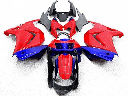 Addmotor 外装セット KAWASAKI NINJA EX250 250R 2008 2009 2010 2011 2012 用 スパイダーマン