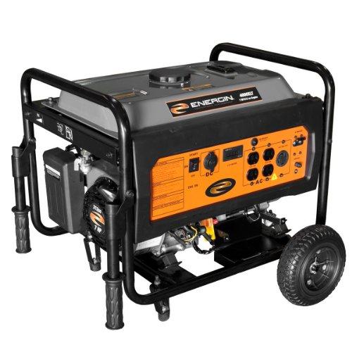 Energin Energin 52223 Portable Generator with Electric Start, 4000-watt