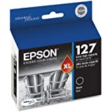 Epson DURABrite T127120 Ultra 127 Extra High-capacity Inkjet Cartridge-Black