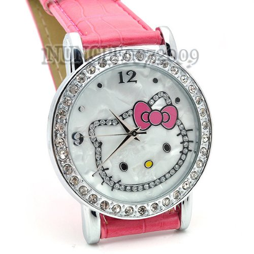 Miss Peggys Hello Kittys* Yw301hp Watch and a Hello Kitty Necklace
