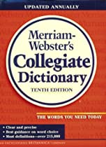 Merriam-Webster's Collegiate Dictionary (Jacketed, Navy Kivar, Unindexed)