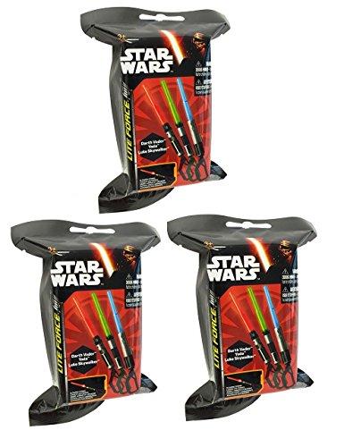 Star Wars Mini Light Up Lightsaber Mystery 3 Pack
