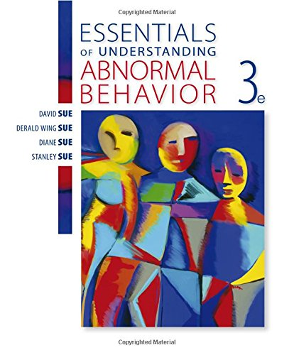 understanding abnormal psychology Understanding abnormal behavior to maximize students' understanding of text material this dvd works in tandem with the abnormal psychology.