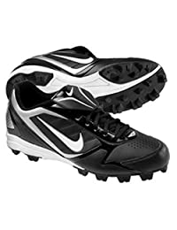 New 375561 Nike Keystone Low (BG) Y2.5 Black/White Baseball Cleats