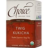 Choice Organic Twig Tea, 1.1 Ounces 16-Count Box (Pack of 6)