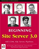 img - for Beginning Site Server book / textbook / text book