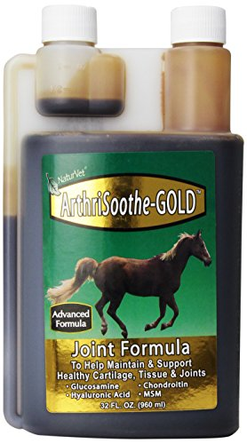 Naturvet Arthrisoothe-Gold For Horses 32 Oz Liquid 30 Day Supply