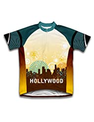 LA Sparkle Short Sleeve Cycling Jersey for Women