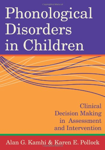 Phonological Disorders in Children: Clinical Decision...